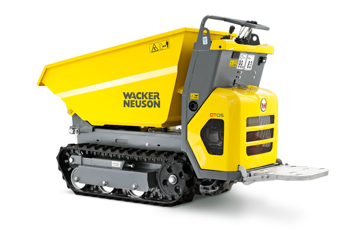 An image showing a Wacker Neuson Dumper