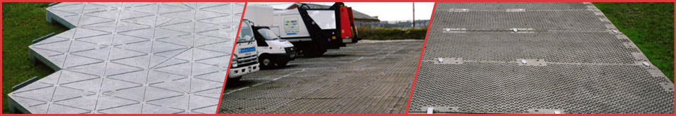An image of temporary roadways from Tenbury Plant & Tool Hire